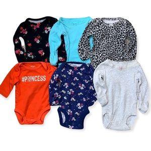 Carter's newborn variety onesies